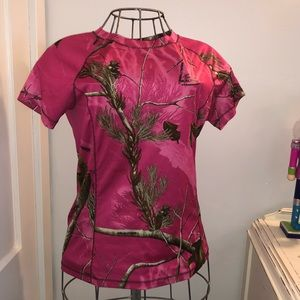 Real tree pink active top